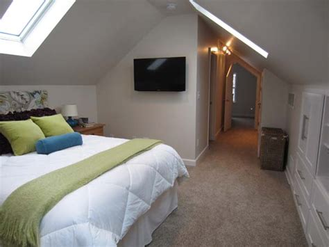 before after serene attic bedroom makeover idea decorating envy best living space before and afters 2013 attic spaces