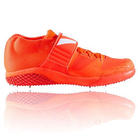 adidas adizero javelin mens orange athletic track field spikes shoes trainers ebay