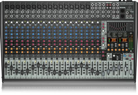 Mixer Eurodesk Sx2442fx behringer eurodesk sx2442fx pa mixer 24 channel dj city