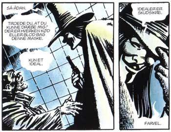 Kaos V For Vendetta v for vendetta terrorisme eller frihedsk af rune