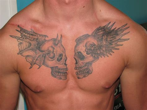 skull chest tattoos for men free pictures tattoos for a guide to