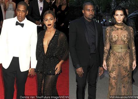 beyonce and jay z insult kim kardashian and kanye west bey jay w kim kanye again prettystatus