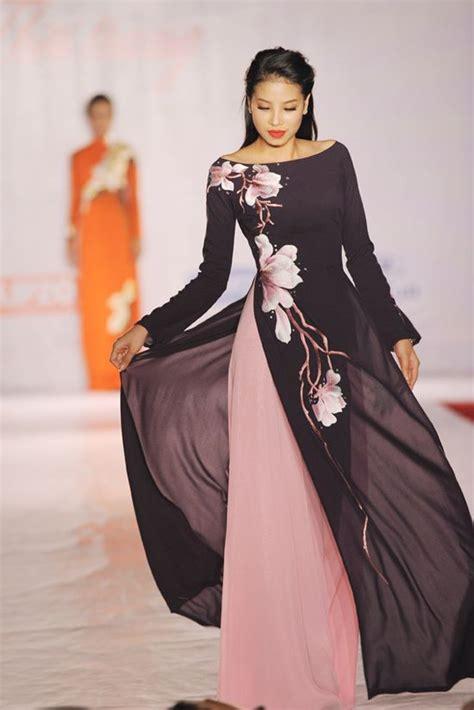 modern dress pattern design ao dai aodai lien huong close up ahhhhh pretty