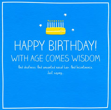 Happy Birthday Comedy Wishes Pigment Cards Humorous Greetings Cards Fleet Street