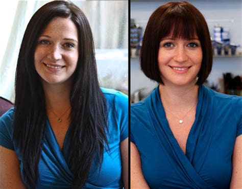 before and after long to short hair cutting your long hair short short hairstyles