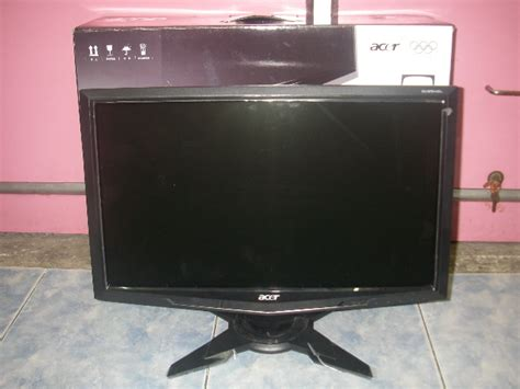 Monitor Lcd Acer G195hql ม อสอง ขาย จอ lcd acer 18 5 น ว wide screen ร น