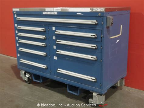 equipment storage cabinet stanley vidmar 10 drawer portable tool cabinet shop