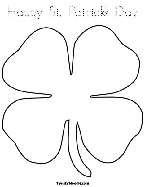 coloring pages shamrock template small shamrock coloring pages printable coloring pages