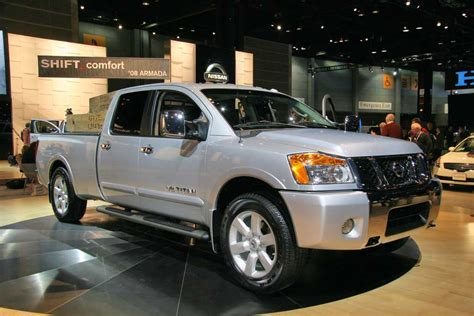 all car manuals free 2008 nissan titan head up display nissan updates truck trio in chicago