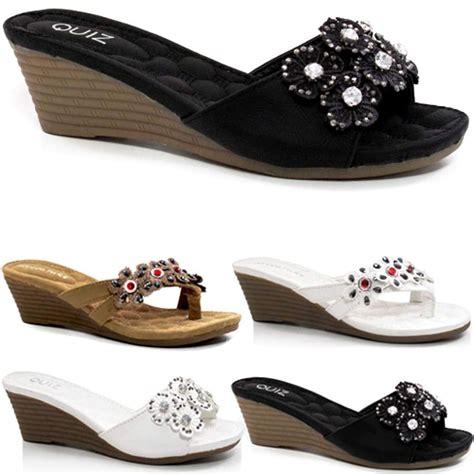 wedge sandals fancy summer dress heels comfort