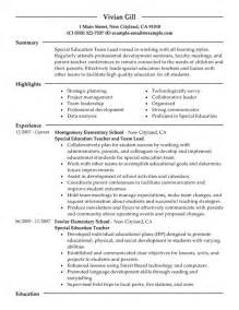 Early Childhood Education Resume Sles by Sles Exle Child Care Provider Resume With Regard To