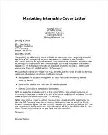 Image result for Cover letter marketing internship no experience
