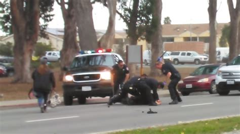 Salinas Arrest Records Assault Suspect Sustains Horrific Beating By Salinas In Videotaped Arrest