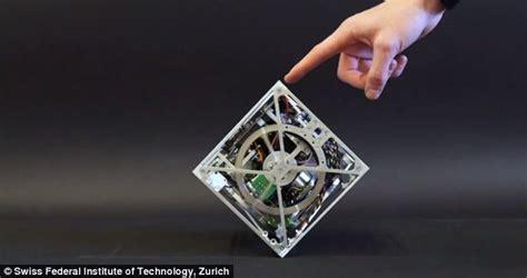 Balance Cube mechanical cube can jump spin walk and balance itself