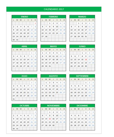 calendario 2017 para imprimir gratis 2017 calendarios para imprimir gratis related keywords