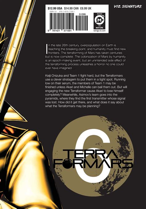 terra formars vol 20 books terra formars vol 6 book by yu sasuga kenichi