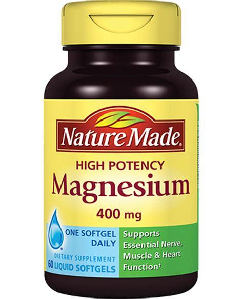Natures Way High Strength Magnesium 600 Mg 150 Tabs high potency magnesium 400 mg