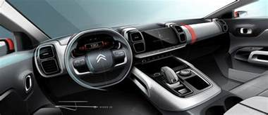 Interior Home Photos Citroen C5 Aircross Interior Teased Ahead Of Shanghai