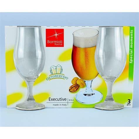 bicchieri birra bormioli set 3 bicchiere calici da birra birreria bormioli