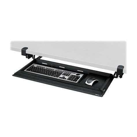 under desk keyboard tray cl best cl on keyboard tray for under the desk easy