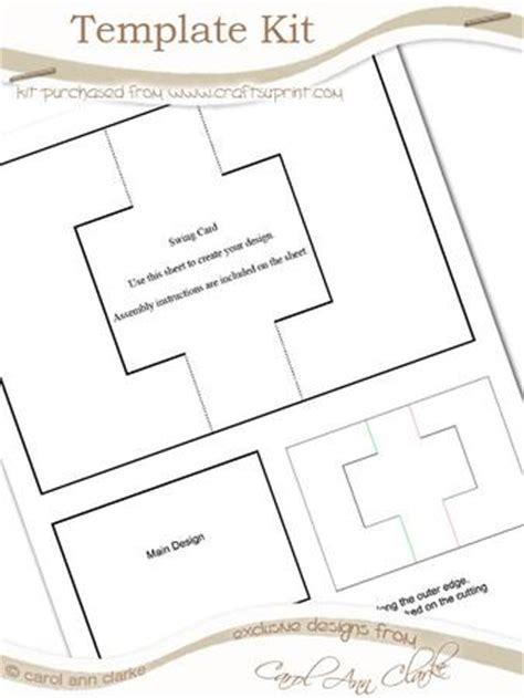 swing card template swing card template kit 1 sheet kit cup59053 359