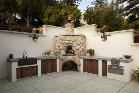 simple outdoor kitchen ideas 18 outdoor kitchen designs ideas design trends