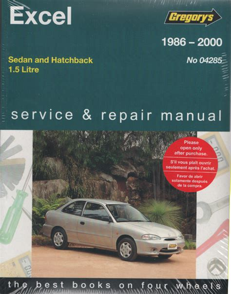 what is the best auto repair manual 2000 ford f150 transmission control hyundai excel 1986 2000 gregorys service repair manual sagin workshop car manuals repair books