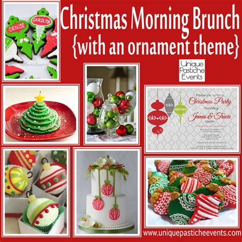 themes for christmas brunch holiday party inspiration unique pastiche events