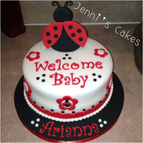 Ladybugs Baby Shower Theme by Bug Baby Shower Theme My Cake Design