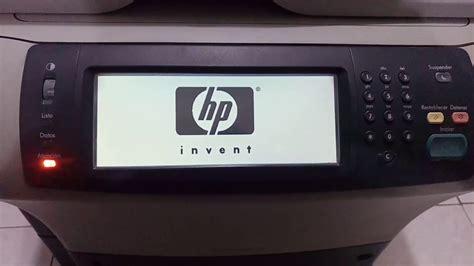 hp laserjet 1020 cold reset hp laserjet m4345 mfp cold reset youtube