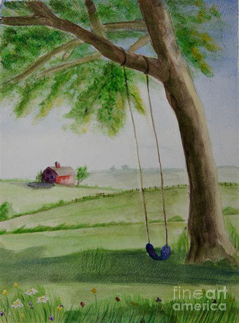 swing seasons summer swing seasons part 1 painting by corrie mcdermott