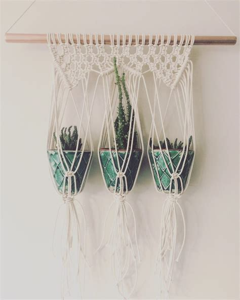 Macrame Shop - macrame plant hanger from etsy shop macrame adventure