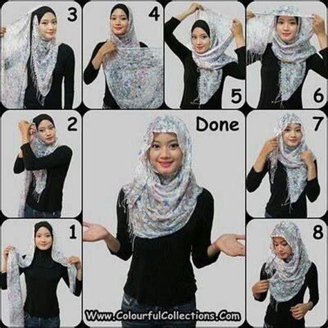 tutorial hijab pashmina simple buat remaja hijabs hijab tutorial and simple on pinterest