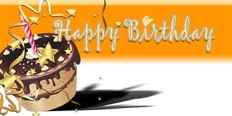 Banner Happy Birthday happy birthday banner orange cake vinyl banners