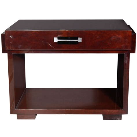 console age deco machine age console writing desk by donald deskey