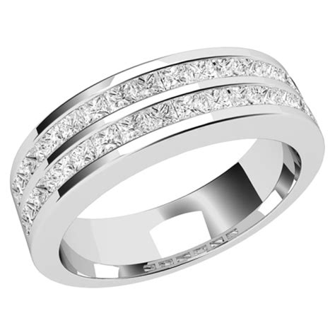 an row set wedding ring in