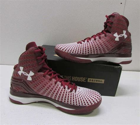 maroon basketball shoes armour s 9m maroon burgundy bordeaux clutch fit