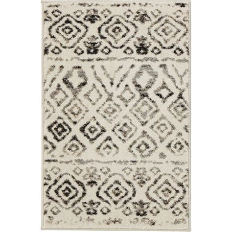 home decorators collection imperial ivory 3 ft x 5 ft home decorators collection tribal essence ivory 2 ft x 3