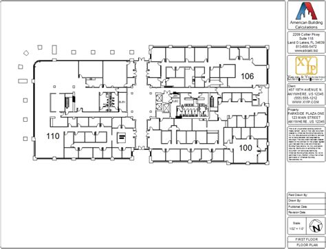 floor plan of a commercial building office industrial multi tenant retail buildings