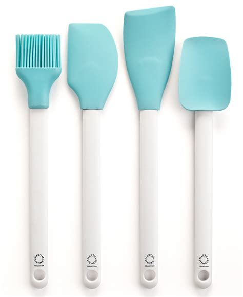 Martha Stewart Kitchen Collection by Martha Stewart Collection Set Of 4 Blue Kitchen Utensils