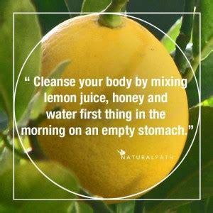 Detox Lemon Juice Honey by Honey Lemon Detox Water Naturalpath