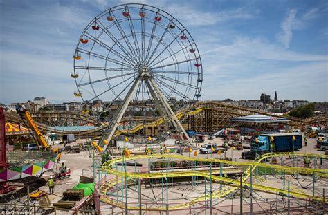 theme park kent 2018 margate amusement park re opens after 163 18m restoration