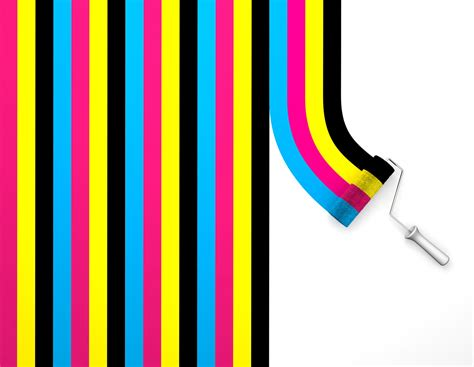 qq wallpapers cmyk colors wallpapers set