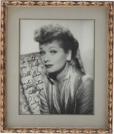 gary morton lucille ball memorabilia from the estate of gary morton