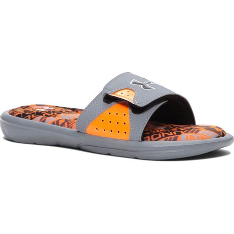 armour boys sandals armour boy s ua ignite velocity slide sandals ebay