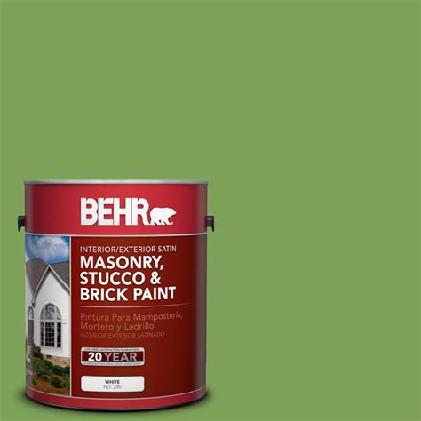 behr paint colors green exterior behr 1 gal p380 6 springview green satin interior