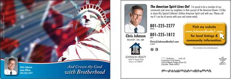 personalized realtor postcards created for your
