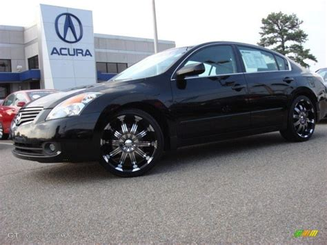 nissan altima custom nissan rims 2007 nissan altima 2 5 s custom wheels photo