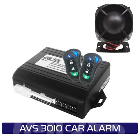 avs 3010 car alarm driving sound