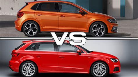 Audi A3 Vs A3 Sportback by 2018 Volkswagen Polo Vs 2017 Audi A3 Sportback